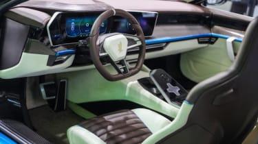 Isdera Commendatore GT interior