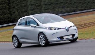 Renault ZOE preview cornering