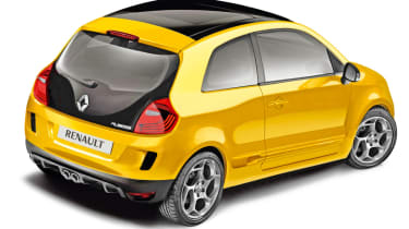 New Renaultsport Twingo rear