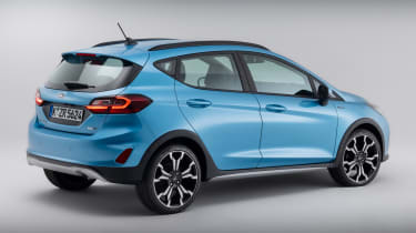 Ford Fiesta Active facelift - rear