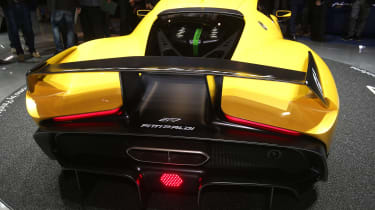 Pininfarina Fittipaldi EF7 Geneva - full rear