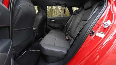 Toyota Corolla Touring Sports - rear seats