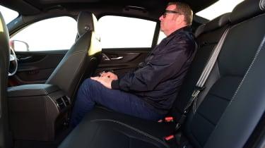 Jaguar XE P300 Long termer - rear seats