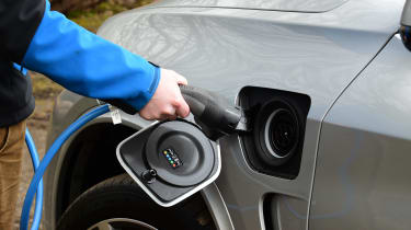 BMW X5 - charging point