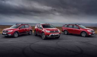 Dacia Techroad range