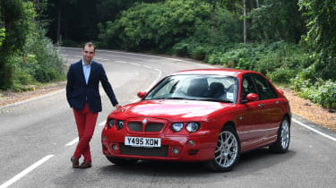 James Batchelor MG Rover ZT