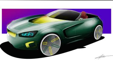 MG Roadster sketch