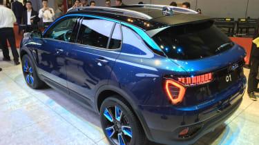 lynk and Co 01 SUV production car Shanghai 2017 rear