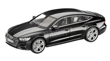 Audi A7 leaked image - black (watermarked)