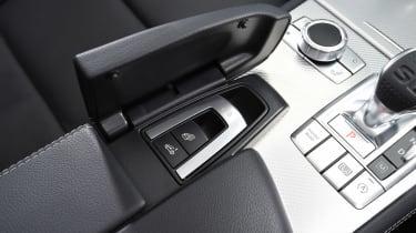Mercedes SL 500 - roof controls