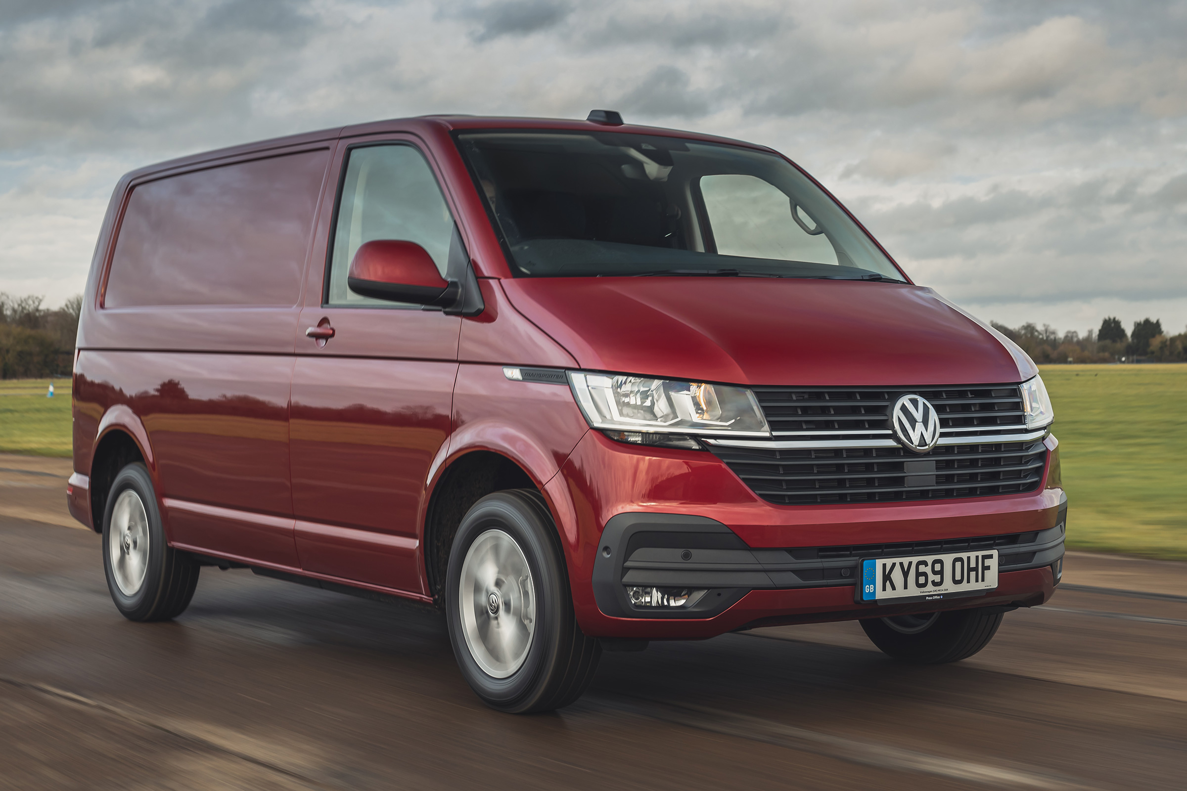 Volkswagen Transporter Van Review Auto Express