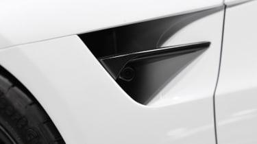 Tesla Roadster - vent