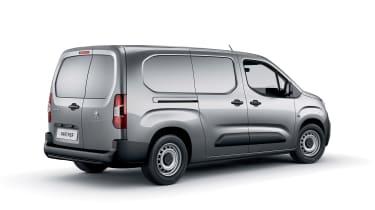 Peugeot Partner - rear/side white