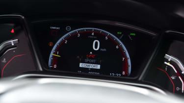 Honda Civic Type R Sport Line - dials