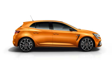 Renault Megane RS - studio side static
