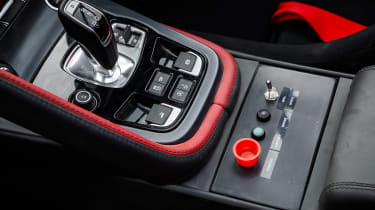 Jaguar F-Type rally car - centre console