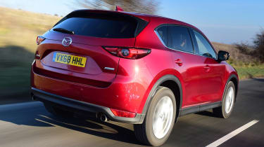 Used Mazda CX-5 - rear action