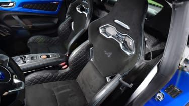 Alpine A110 - front seats