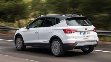 New SEAT Arona 1.6 TDI - rear action