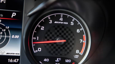 Mercedes-AMG GLC 43 Coupe dial
