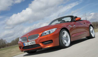 New BMW Z4 front tracking