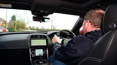 Jaguar XE P300 Long termer - driving