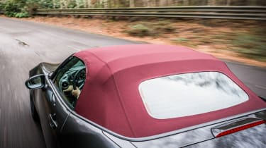 New Mazda MX-5 Z-Sport 2018 review - roof