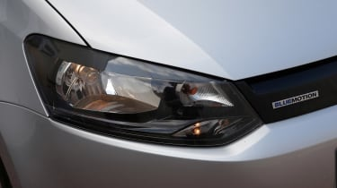 Used Volkswagen Polo - front light detail
