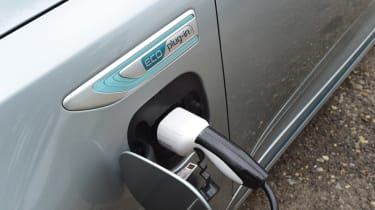 Kia Optima PHEV - charging