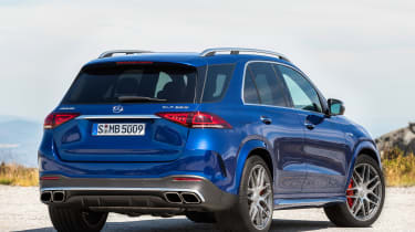 Mercedes-AMG GLE 63 S - rear static