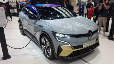 Renault Megane E-Tech Electric - Munich front