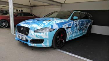 Jaguar XJR 2017 side front