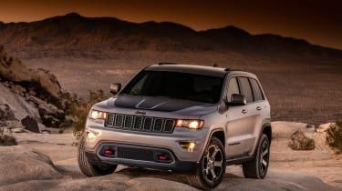 Jeep Grand Cherokee Trailhawk - front three quarter