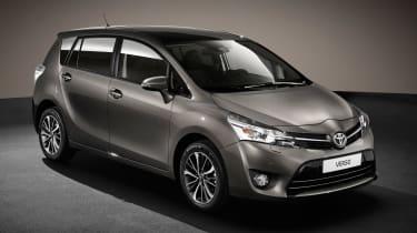 Toyota Verso 2016 - European model front