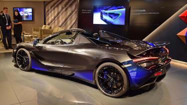 McLaren 720S Spider by MSO - Geneva rear