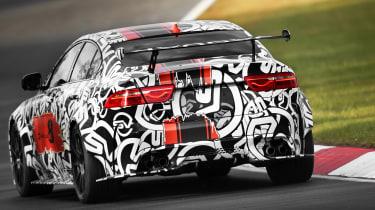 Jaguar XE SV Project8 - rear