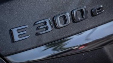 Mercedes E 300 e - E 300 e badge
