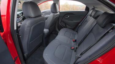 Kia Rio 2015 rear seats