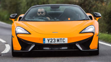 Mclaren 570s review - straight on