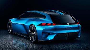 Peugeot Instinct concept - rear studio