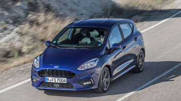 Ford Fiesta ST-Line - front/above