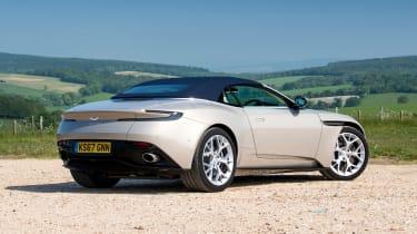 Aston Martin DB11 Volante - rear roof closed