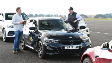 Thatcham road safety tech test