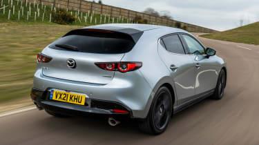 Mazda 3 e-SkyActiv X - rear