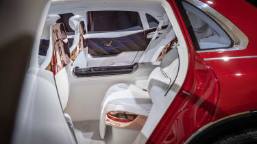 Vision Mercedes-Maybach Ultimate Luxury concept - rear seats