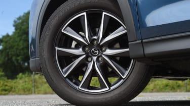 Mazda CX-5 vs Skoda Kodiaq vs VW Tiguan - Mazda CX-5 wheel