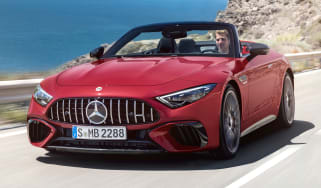 Mercedes SL - front