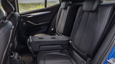 2018 BMW X2 - rear seats