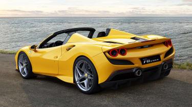 Ferrari F8 Spider - rear