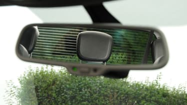 SEAT Alhambra rear-view mirror detail